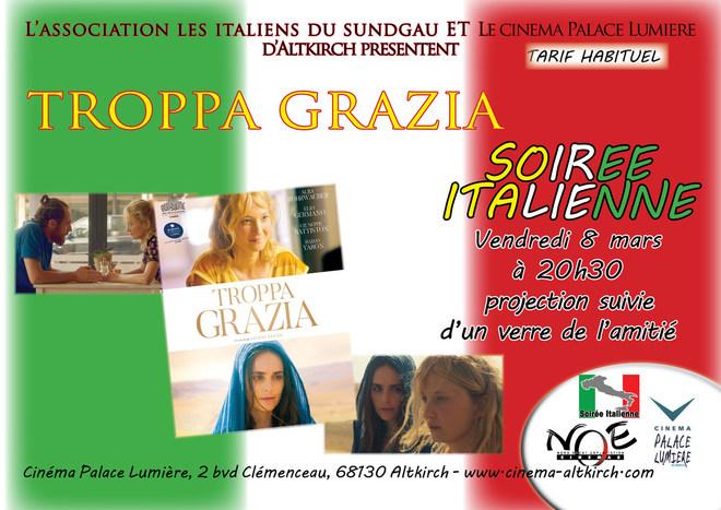 TROPPA GRAZIA - Soirée Italienne