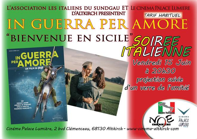 BIENVENUE EN SICILE - Soirée Italienne - Tarif Habituel