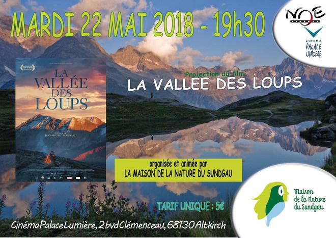 LA VALLEE DES LOUPS - en partenariat avec LA MAISON DE LA NATURE DU SUNDGAU - tarif unique 5€