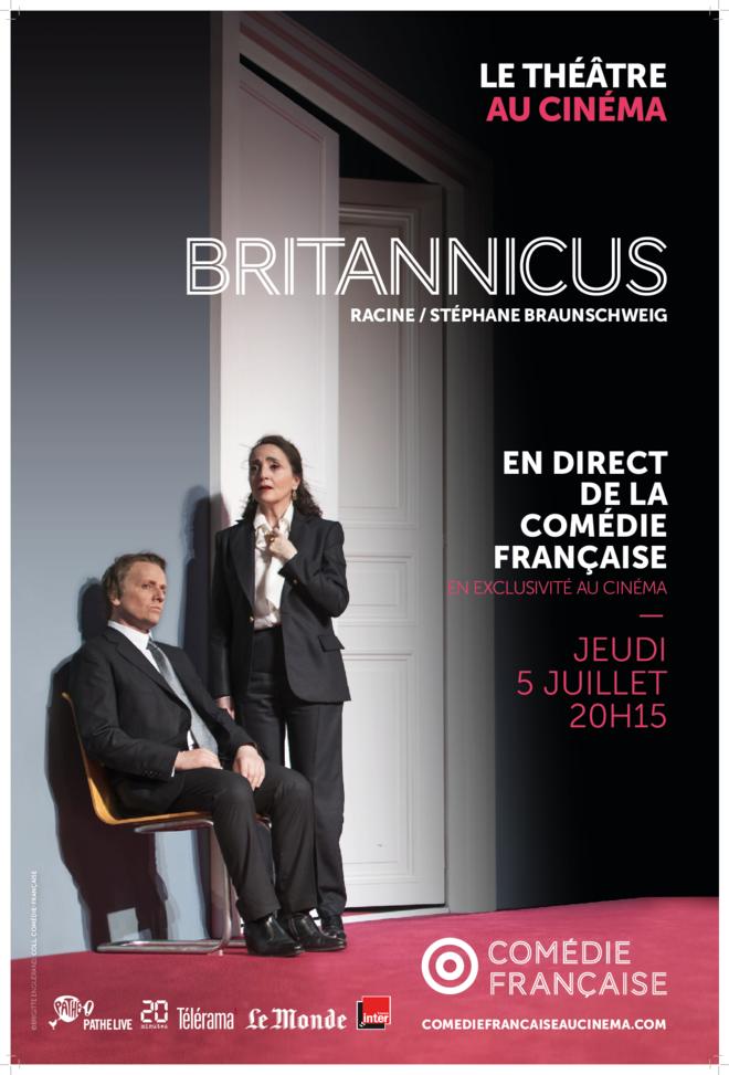 BRITANNICUS - Théâtre en direct de Paris - Tarif plein: 23€/Tarif -16ans: 13€