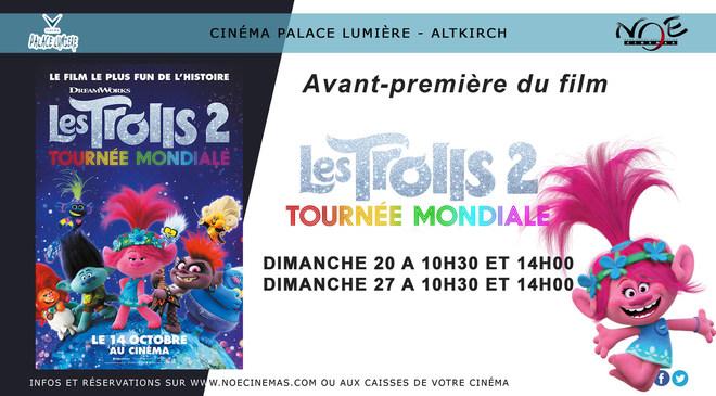 AVANT-PREMIERE Les Trolls 2