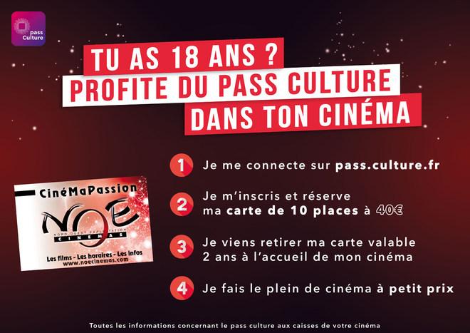 Je fais le plein de cinéma avec le Pass culture !