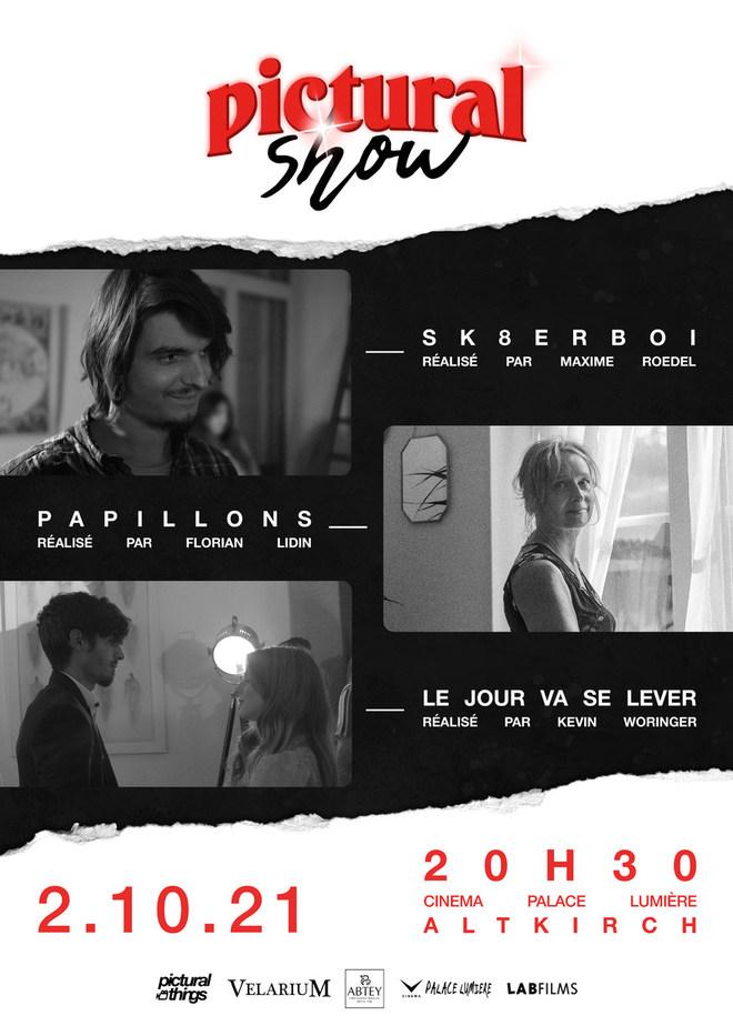 Pictural Show - Soirée spéciale 3 courts métrages