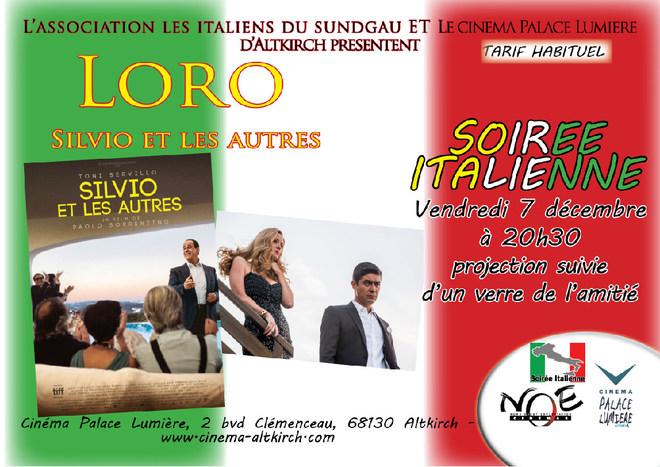 LORO - Soirée Italienne (film en italien sous-titré français)