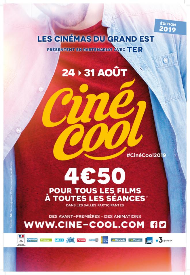 CINE COOL - du 24 au 31 août