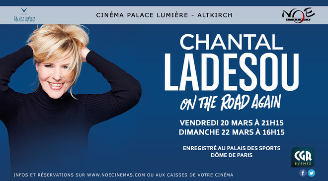 CHANTAL LADESOU ON THE ROAD AGAIN - Spectacle