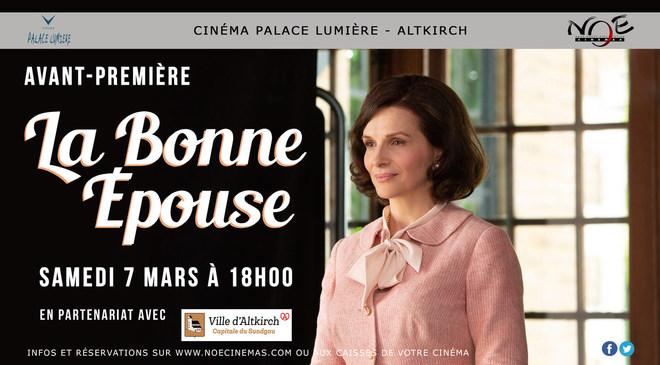 LA BONNE EPOUSE - Avant première