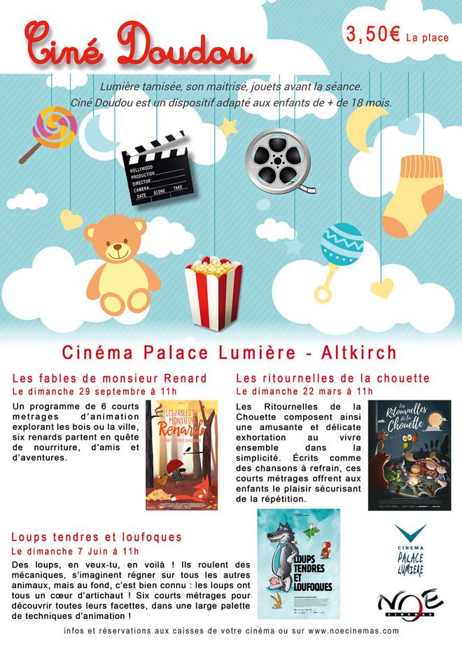 Programme Ciné Doudou