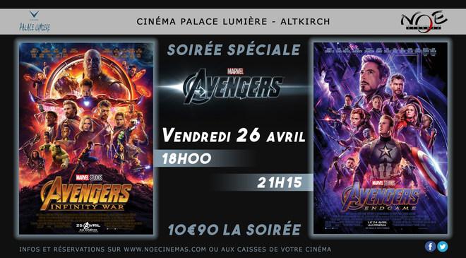 Soirée Avengers