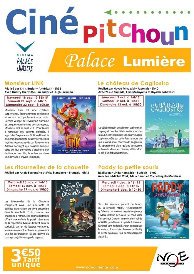 Programme Ciné Pitchou'n 2019/2020