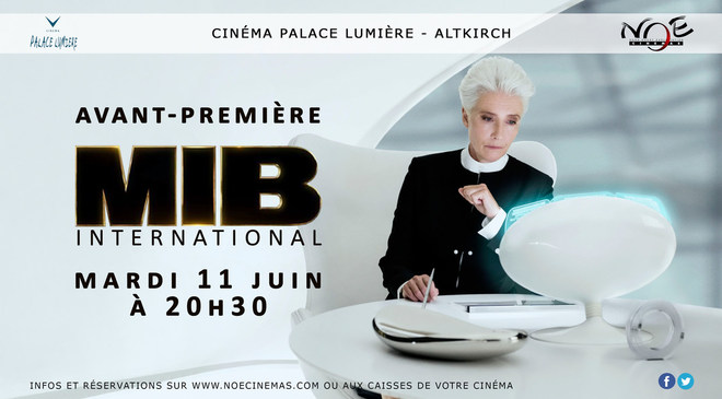 MEN IN BLACK INTERNATIONAL - Avant-Première