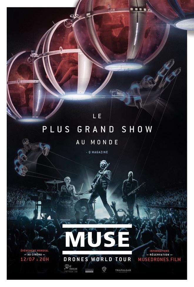 MUSE : DRONES WORLD TOUR - Concert - Tarif unique : 14€
