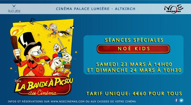 LA BANDE A PICSOU AU CINEMA - Noé Kids