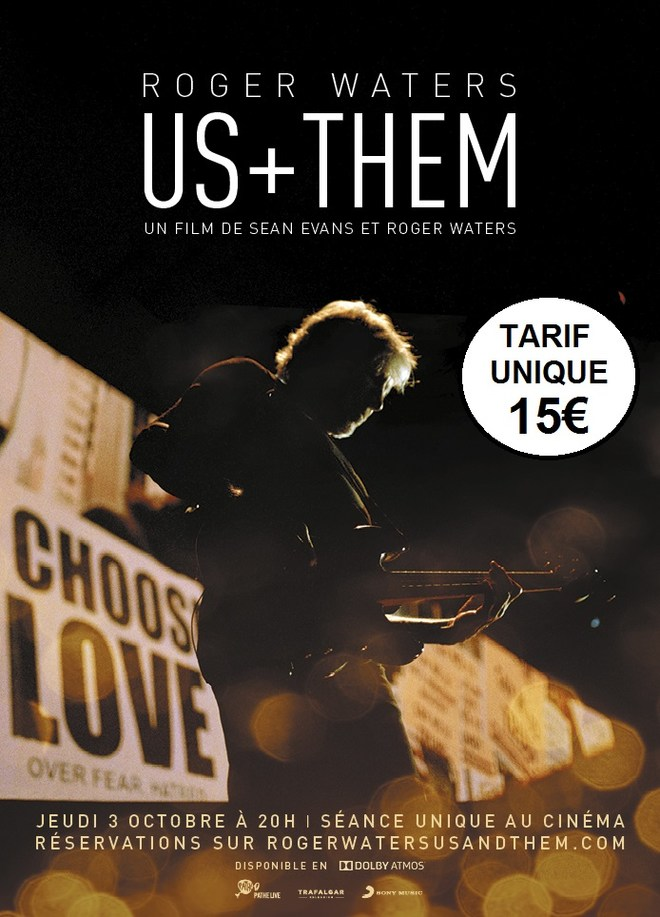ROGER WATERS US + THEM - Concert