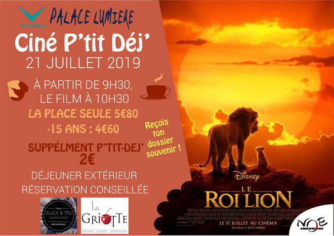Le Roi Lion - Ciné P'tit Déj'