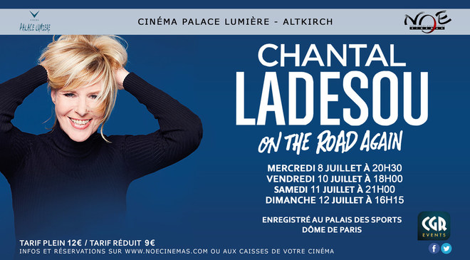 SPECTACLE - Chantal Ladesou - On the road again