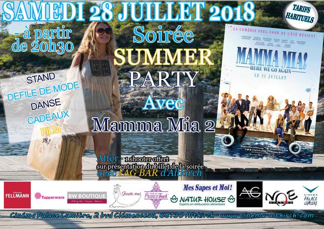 MAMMA MIA 2 - Soirée Summer Party - Tarif habituel