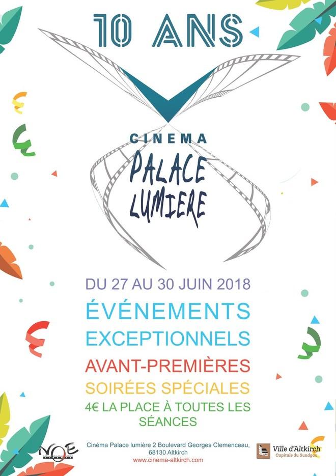 LE CINEMA FETE SES 10 ANS