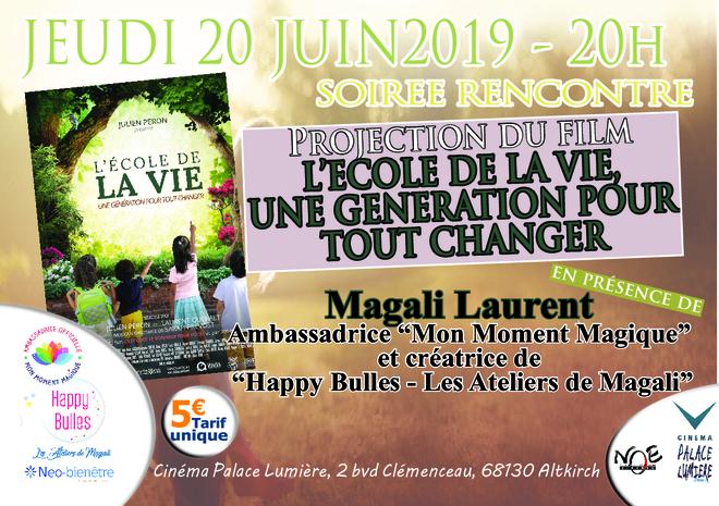 L'ECOLE DE LA VIE- UNE GENERATION POUR TOUT CHANGER - jeudi 20 juin 2019 à 20h - tarif unique 5€