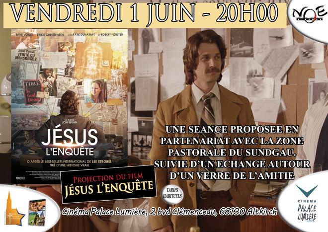 JESUS L'ENQUETE - Soirée en partenariat avec la zone pastorale du Sundgau - Tarif habituel