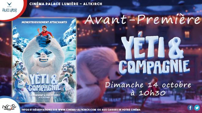 YETI & COMPAGNIE - Avant-Première - Tarif habituel