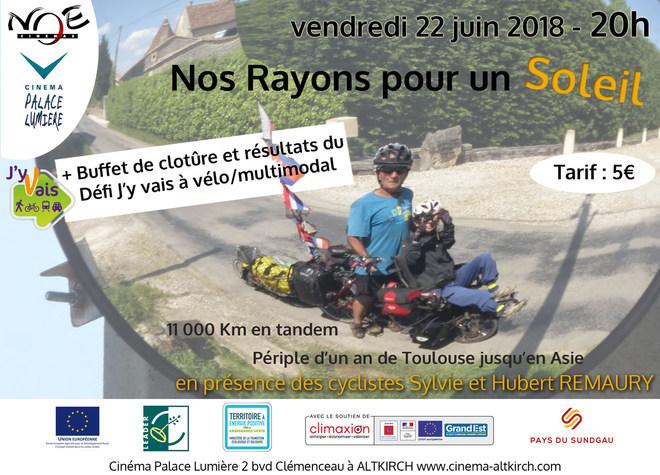 NOS RAYONS POUR UN SOLEIL - En présence de Sylvie et Hubert REMAURY - Tarif unique: 5€