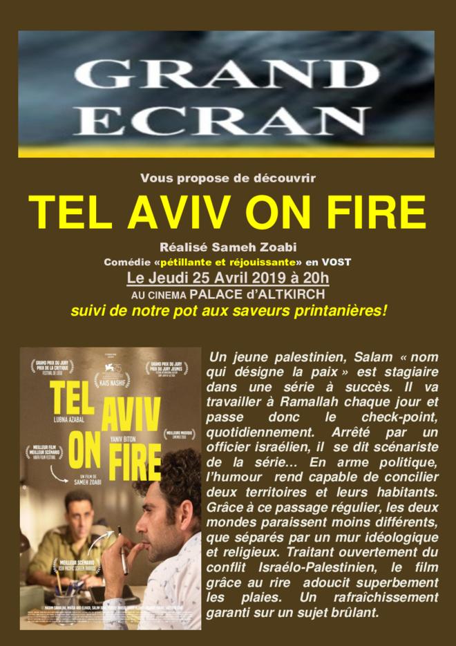 TEL AVIV ON FIRE - Séance Grand Ecran